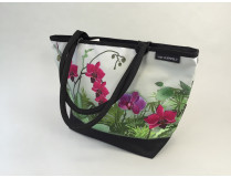 Shoppertasche Orchideen