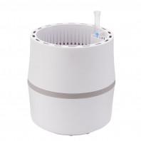AIRY Pot S (antikweiss-grau) inkl. einem Beutel AIRY Base Substrat, Wassertank & Wasserstandsanzeiger