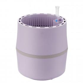 AIRY Pot S (flieder-grau) inkl. einem Beutel AIRY Base Substrat, Wassertank & Wasserstandsanzeiger