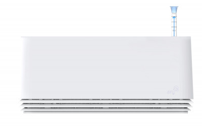 AIRY Box 50 cm, Cover: Snow White Base: Snow White