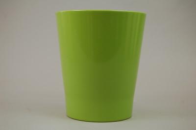 """Orchideen-Übertopf """"lemon-grün"""" (für 12 cm Topf)"""