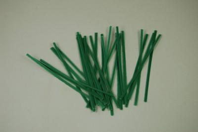 Aufbindedraht 10 cm (Plastik ummantelt)