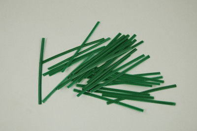 Aufbindedraht 6 cm (Plastik ummantelt)