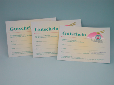 Gutschein € 50 (Orchideen-Wichmann.de)