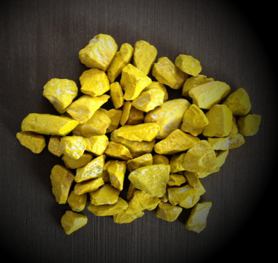 Colomi-Orchideengranulat (gelb)