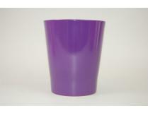 Orchideen-Übertopf 12 cm dunkel-violett