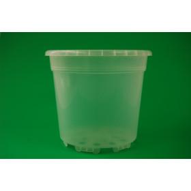Kunststoff-Kulturtopf, 19 cm (transparent)