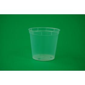 Kunststoff-Kulturtopf, 6 cm (transparent)