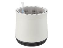 AIRY Pot M (weiss-anthrazit) inkl. zwei Beutel AIRY Base Substrat, Wassertank & Wasserstandsanzeiger