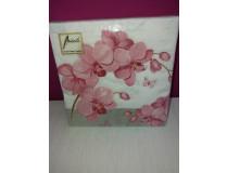Orchideen-Servietten Phalaenopsis pink