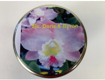 Slc. Doris & Byron 'Christmas Rose' (im sterilen Glas)