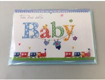"Themen-Grußkarte ""Geburt"" (Klappkarte inkl. Umschlag)"