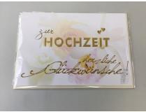 """Themen-Grußkarte """"Hochzeit"""" (Klappkarte inkl. Umschlag)"""