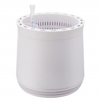 AIRY Pot M (antikweiss) inkl. zwei Beutel AIRY Base Substrat, Wassertank & Wasserstandsanzeiger