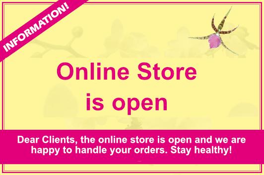 Corona online store open