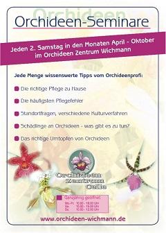 Orchideen Seminare